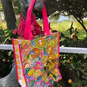 Lilly Pulitzer Reusable Tote or Gift Bag NEW